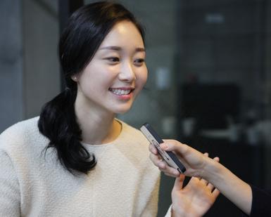 듀오 모델 김정화 사진